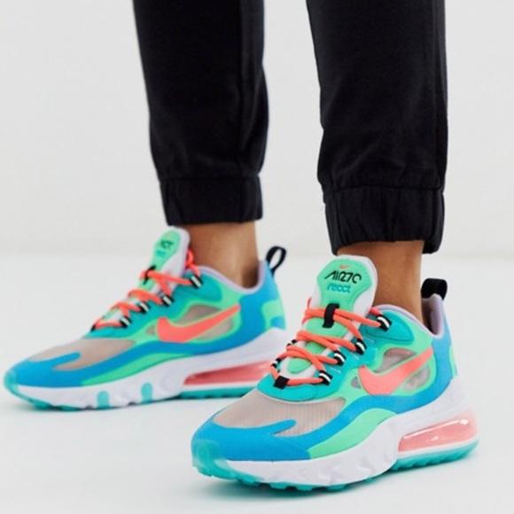 Nike Shoes   Nike Air Max 27 React Blue